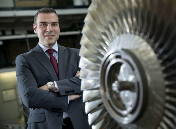 Bild Prof. Vogt Turbine (c) U. Regenscheit